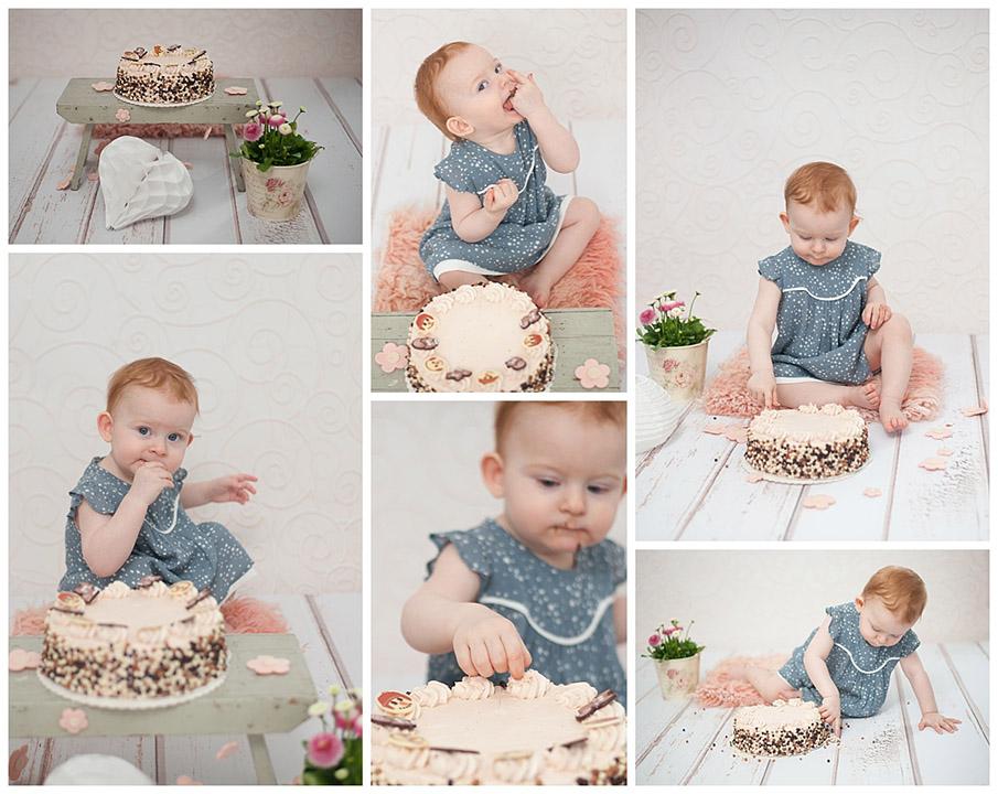 Cake smash Session So kleine Hände