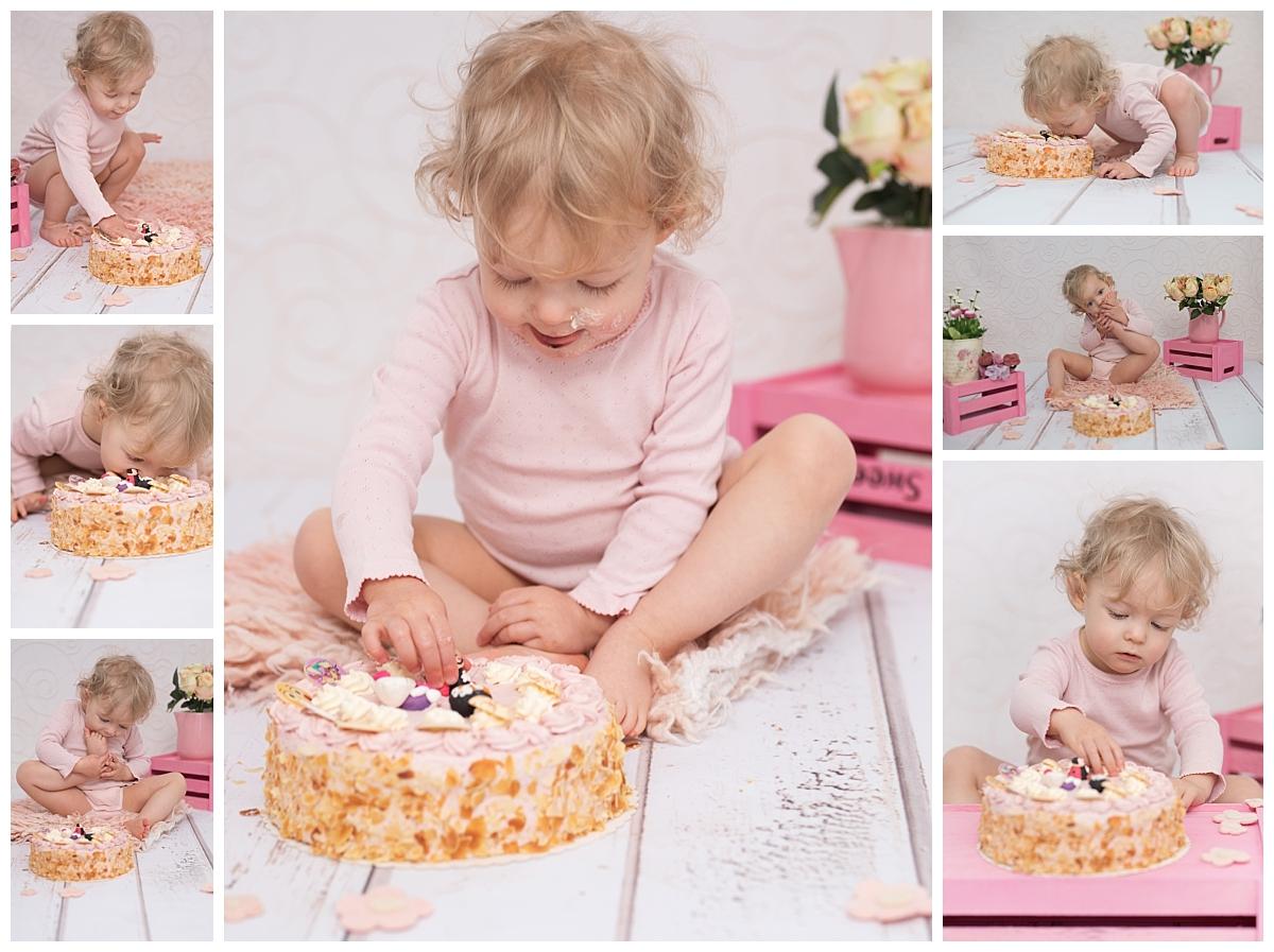 Cake Smash Babyfotografie Sachsen Kathleen Pfennig