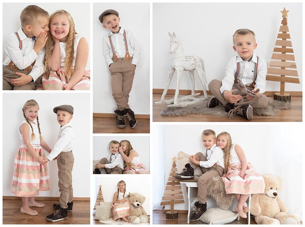 Brüderchen und Schwesterchen Kinderfotografie