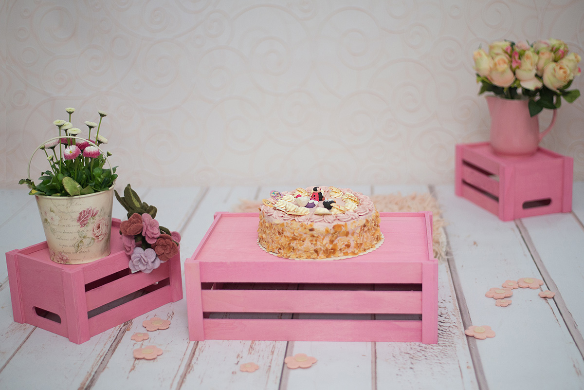 CakeSmash im Studio So kleine Hände Kathleen Pfennig