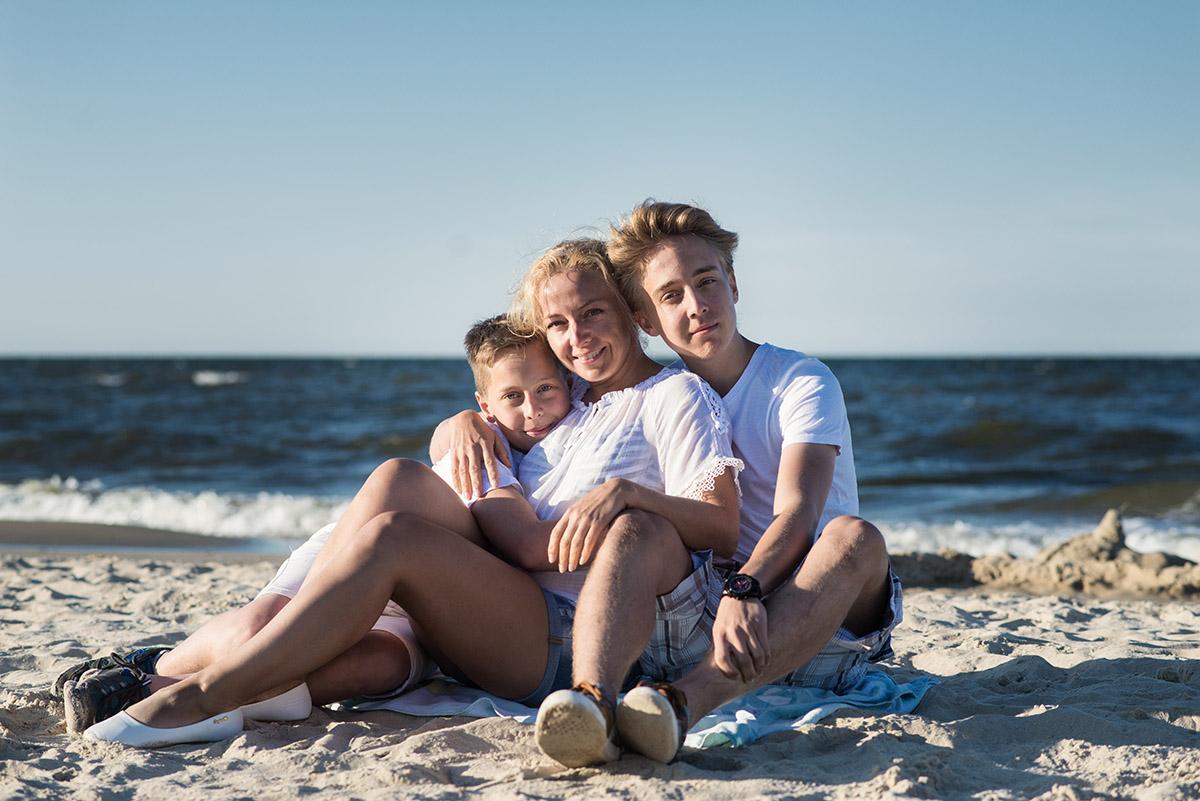 Familienzeit an der Ostsee