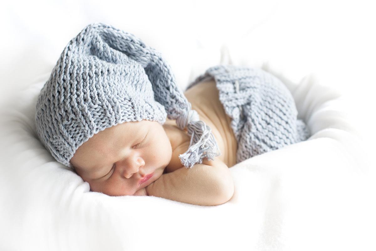 Newbornshooting zu Hause