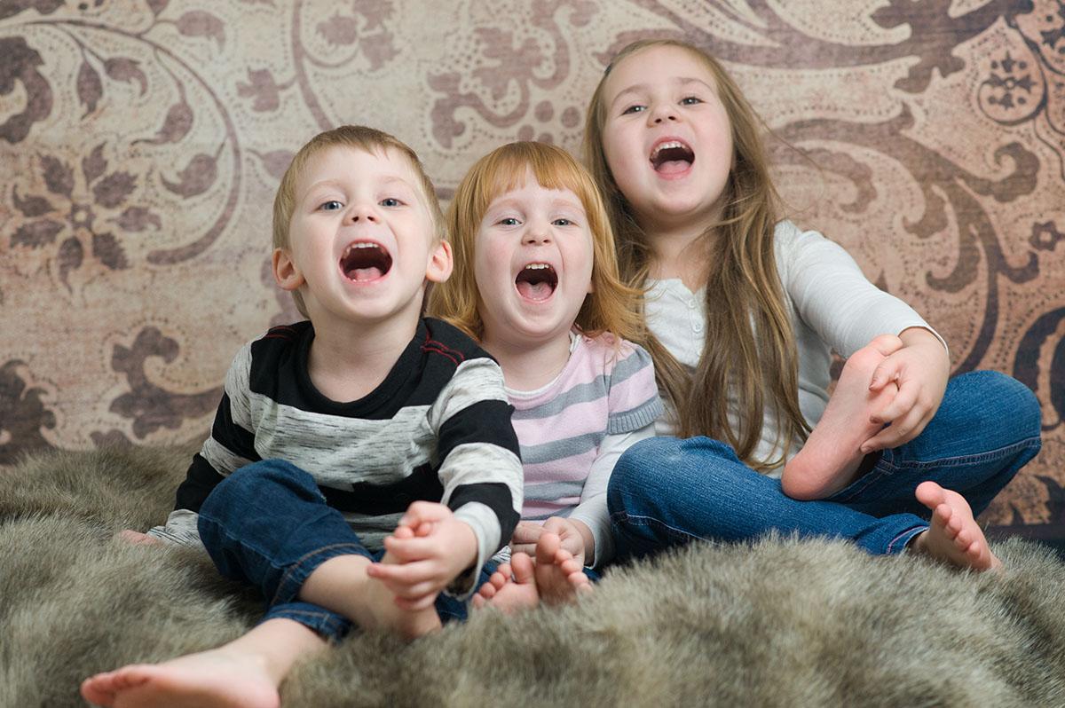 Kinderfotografie Rasselbande
