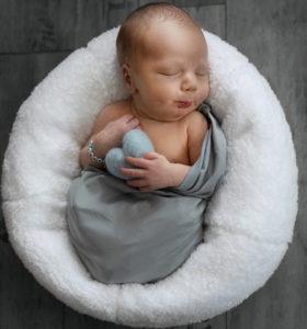 Babyfoto mit Schnute